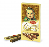 "NEW!!! Portion milk chocolate ""Alyonka"""